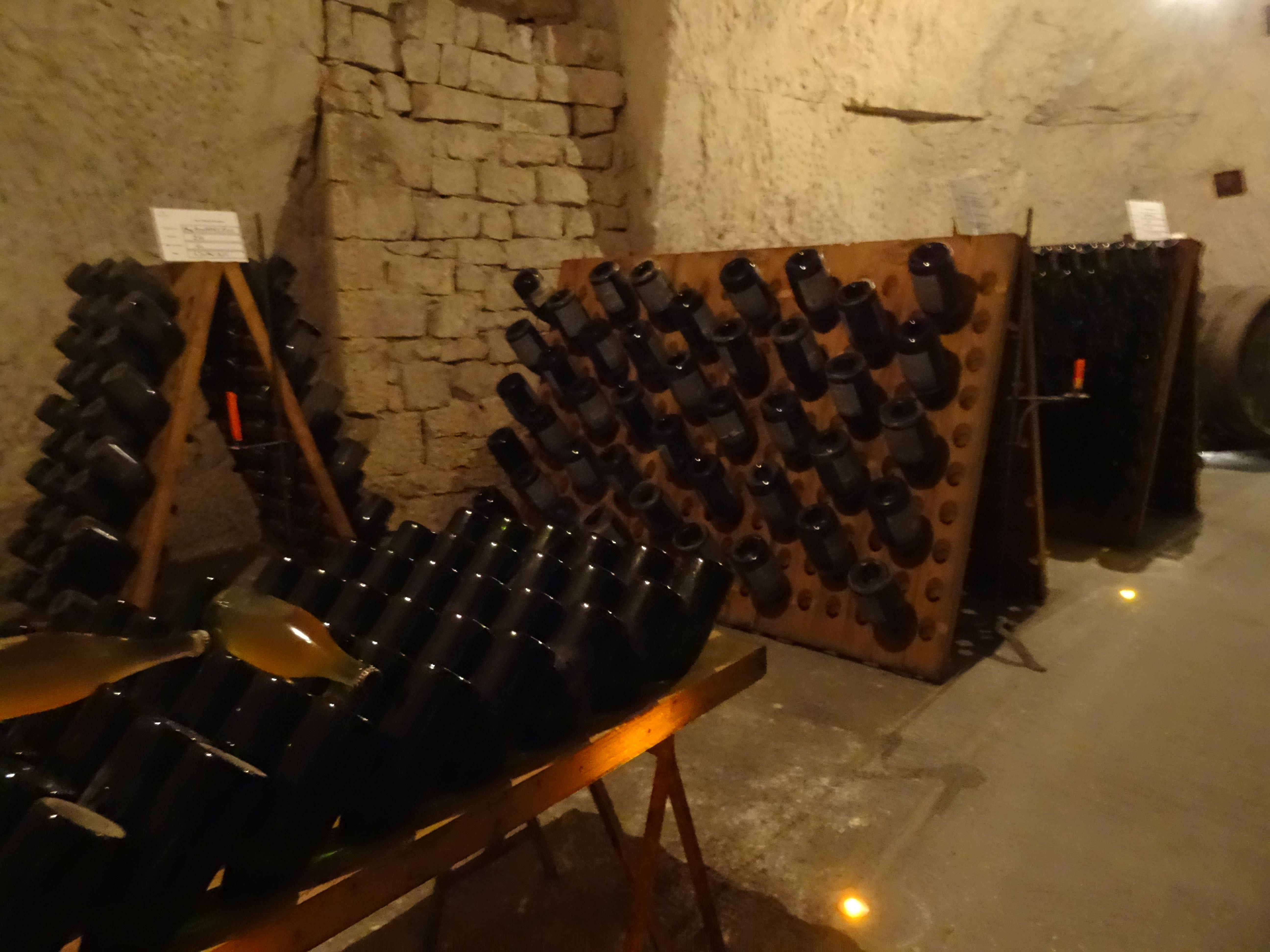 Veuve Cliquot cellar