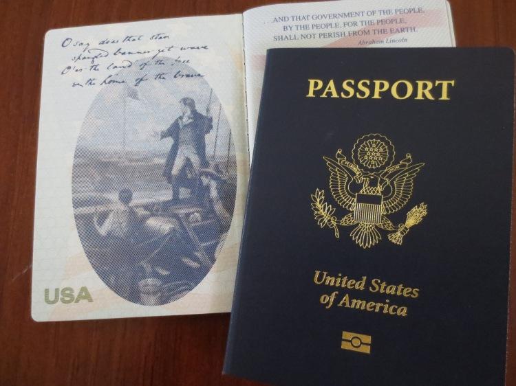 Passport pic for FB