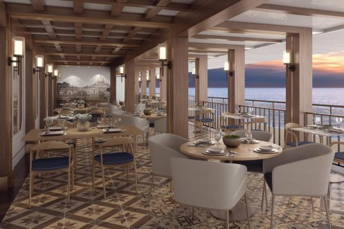 NCL la cucina on the waterfront