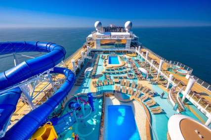 NCL pool and slides