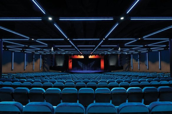 Bliss Theater on Norwegian Bliss